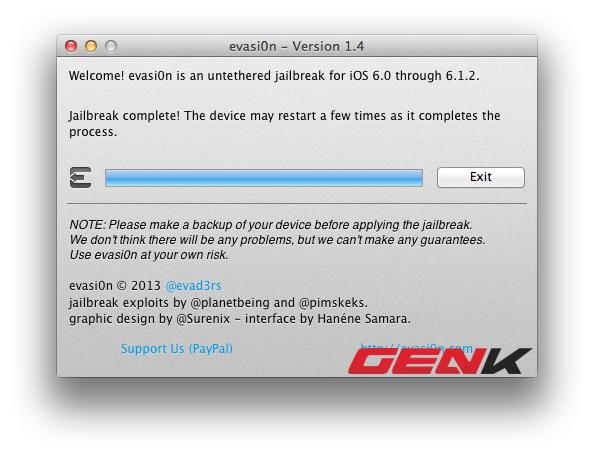 Hướng dẫn quay về iOS 6.0 để Jailbreak cho iPhone/iPad lỡ cập nhật phiên bản mới nhất