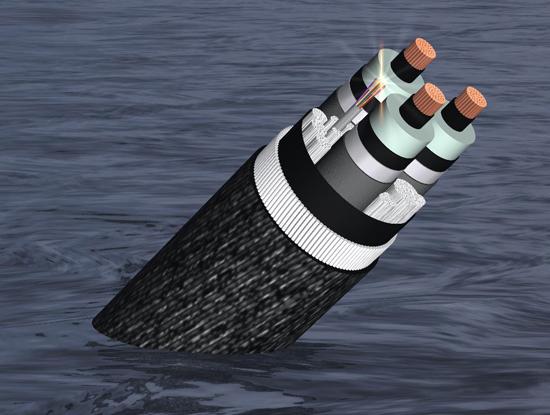 Tròn 2 tháng sau khi xảy ra sự cố đứt cáp quang biển quốc tế AAG ngày 15/7/2014, tuyến cáp quang này lại tiếp tục bị đứt. Ảnh minh họa. Nguồn: Internet.