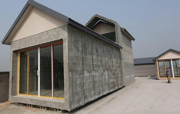 Dựng mười mô hình nhà ở bằng công nghệ in 3D chỉ trong vòng một ngày