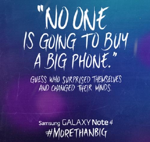 Samsung đá đểu iPhone 6 của Apple