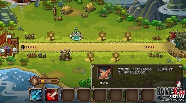 Webgame thủ tháp mới lạ Điên Đảo Tây Du về Việt Nam 1