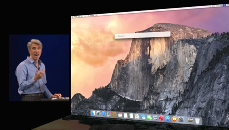 Apple, Mac OS X Yosemite, iOS 8, Google, Bing
