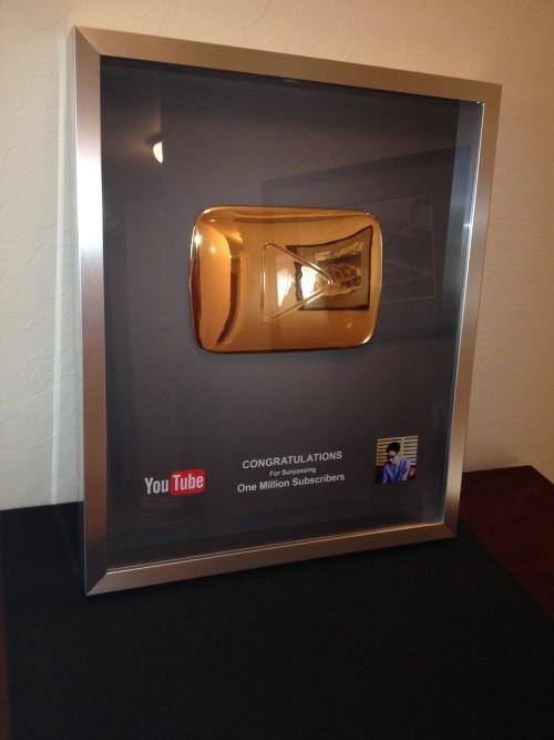 Hút 1,3 triệu người theo dõi, JVevermind nhận giải từ Youtube