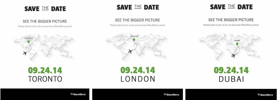 Blackberry Passport sẽ chính thức trình làng vào ngày 24/9
