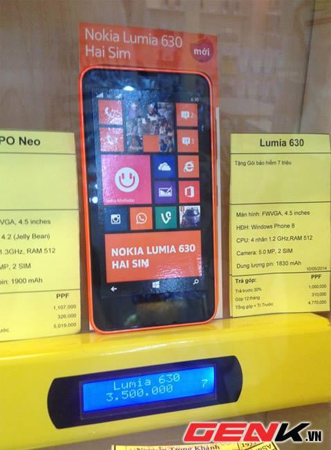 Sức nóng của Lumia 630 những ngày đầu lên kệ tại Việt Nam