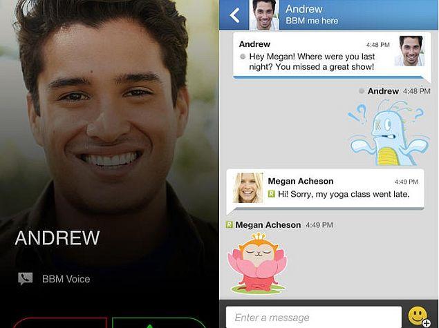 Blackberry Messenger 2.2: dễ sử dụng, thêm nhiều tiện ích