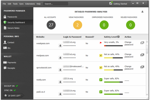6 ứng dụng giúp bạn kiểm soát mật khẩu tiện lợi nhất hiện nay