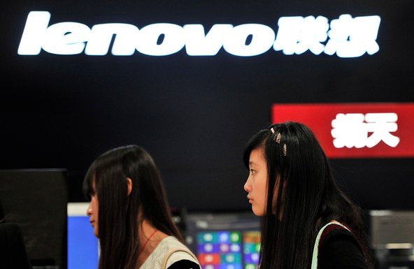 A Lenovo outlet in Hefei, China. The company has agreed to acquire IBMs low-end server unit.
