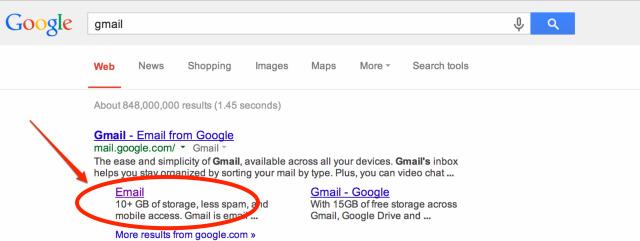 gmail - Tìm kiếm Google