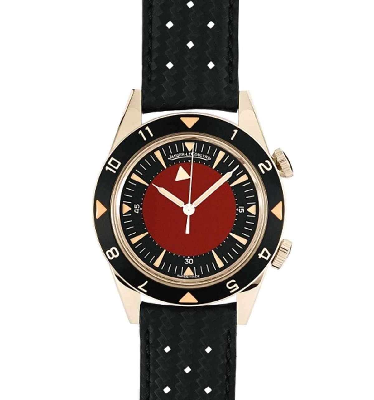 He also designed this Jaeger-LeCoultre watch for an AIDS charity auction.