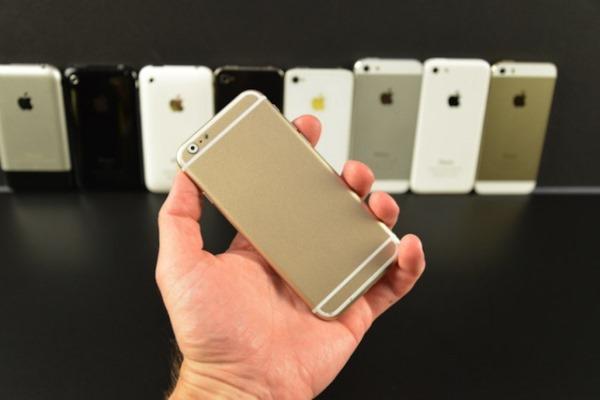 Điểm danh dòng tộc nhà iPhone, từ iPhone 2G cho đến iPhone 6
