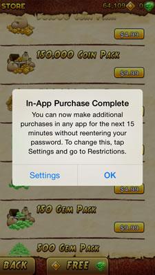 iOS 7.1: Apple cho phép lưu mật khẩu AppStore tối đa 15 phút