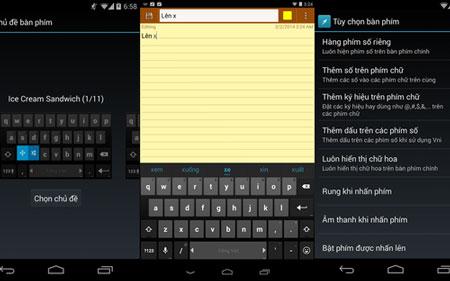 Giao diện ứng dụng Laban Key.