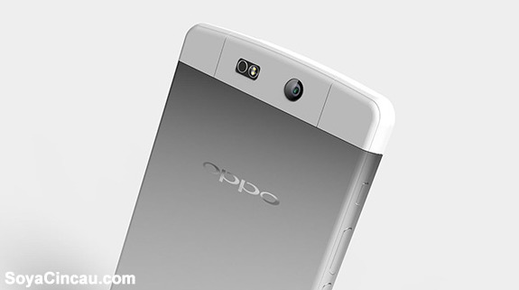 Latest leaked picture of the Oppo N3 shows a design similar to the Oppo N1