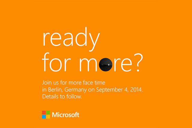 """Microsoft gửi thư mời ra mắt chiếc Lumia chuyên dành cho """"tự sướng"""""""