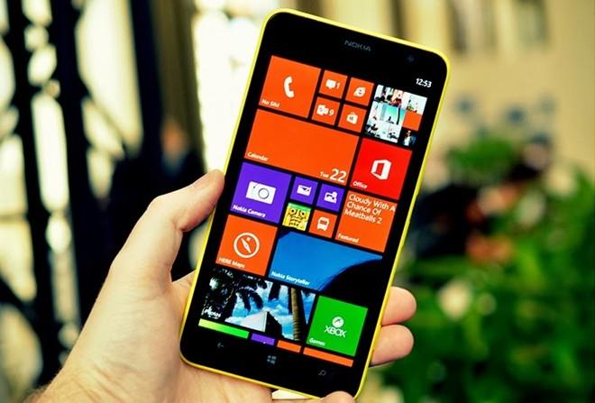 Nokia Lumia 1320 lần đầu giảm giá 1 triệu đồng