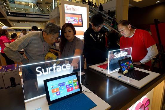 Surface mini chỉ ra mắt khi Office cảm ứng được phát hành