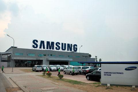 Samsung đã xây dựng nhà máy thứ 3 tại Việt Nam
