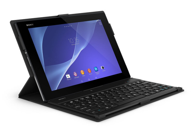 Sony BKC50 Bluetooth Keyboard with Tablet Cover Stand_1