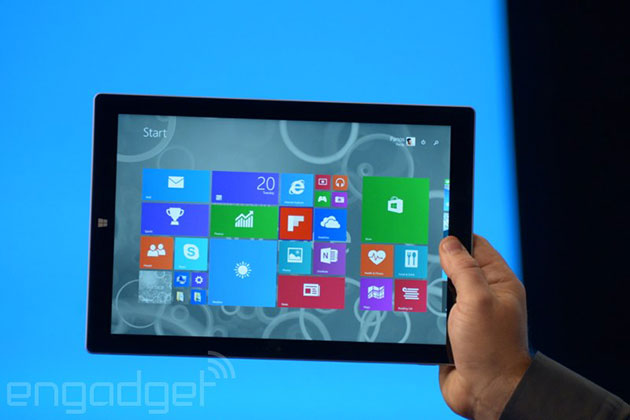 """Microsoft ra mắt Surface Pro 3: """"Kẻ tiêu diệt laptop"""" với màn hình 12 inch và chip Core i7"""