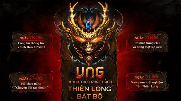 Tin nóng: Thiên long bát bộ về tay nhà phát hành VNG