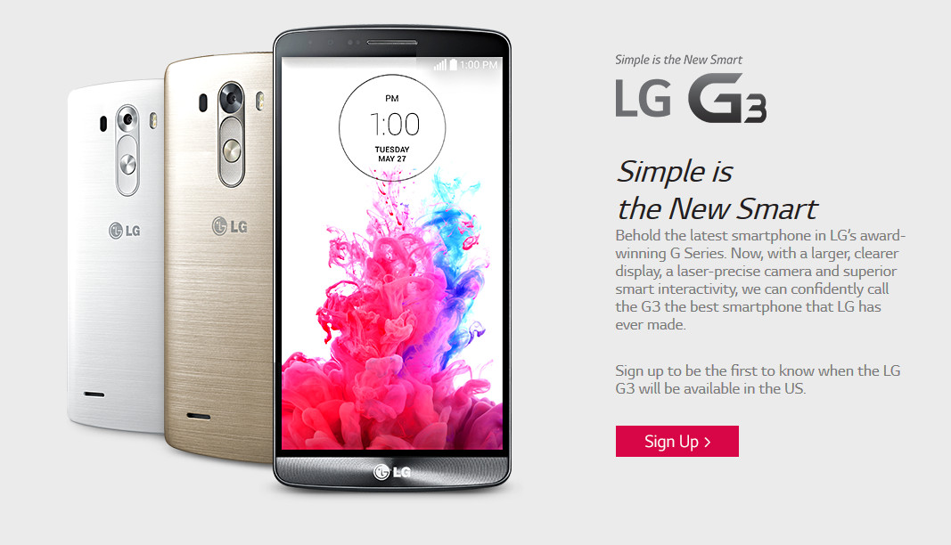 Finally, LG G3 price and release date: end-June for less than your usual flagship