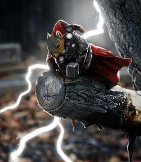Hay cả Thor thần thánh.