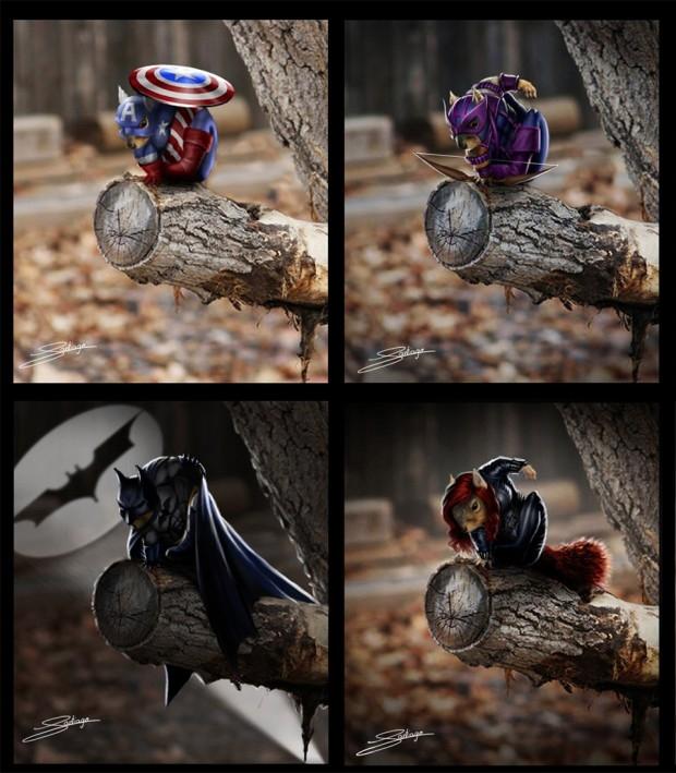 Bộ tứ kết hợp giữa các nhân vật của DC và Marvel.