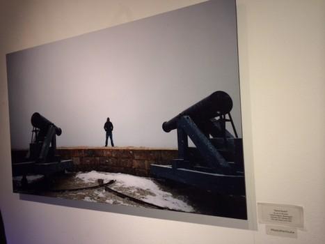Ảnh chụp từ điện thoại Lumia được đem trưng bày triển lãm