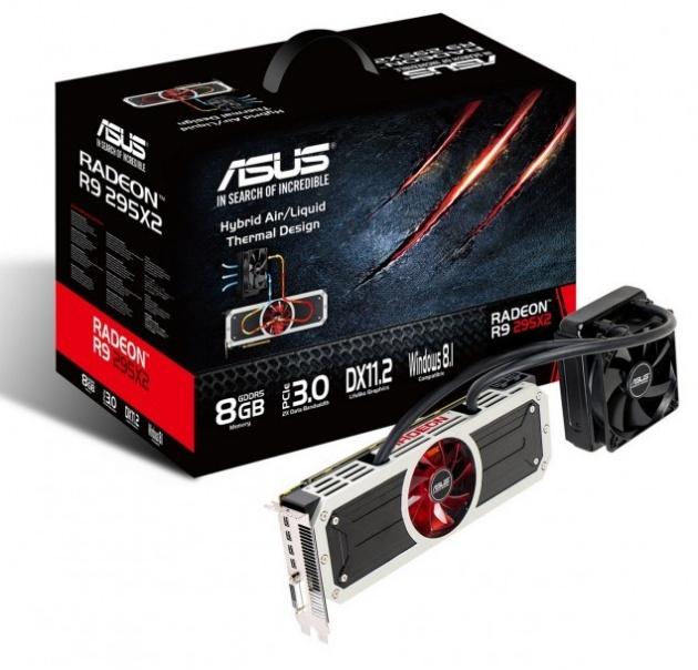 Lộ diện card đồ họa R9 295X2 cao cấp của Asus cùng giá bán