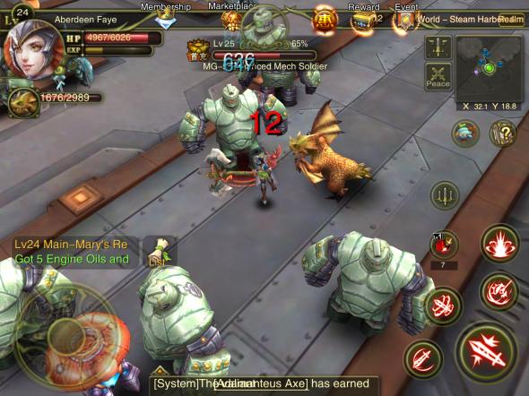 Dawn of the Immortals - gMO khủng chính thức ra mắt game thủ