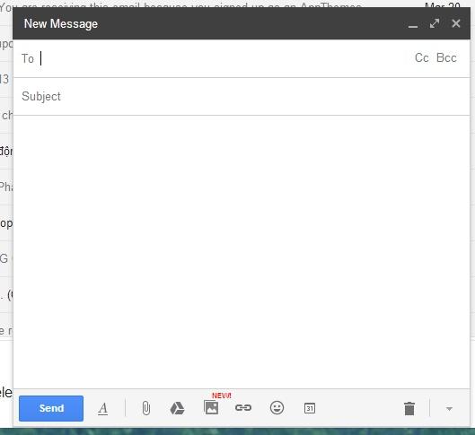 """Chèn ảnh từ điện thoại vào Gmail qua """"đám mây"""""""