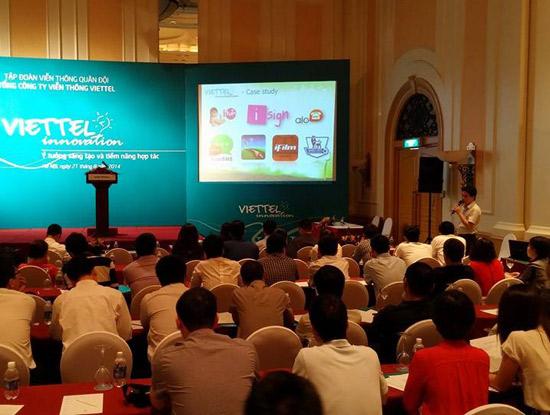 Viettel mời các nhà phát triển ứng dụng di động đến chia sẻ kinh nghiệm và mô hình hợp tác phát triển ứng dụng trên di động.