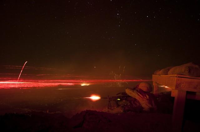 Đại đội Lima của Lính thủy đánh bộ Mỹ tham gia cuộc tập trận Steel Knight ở California.