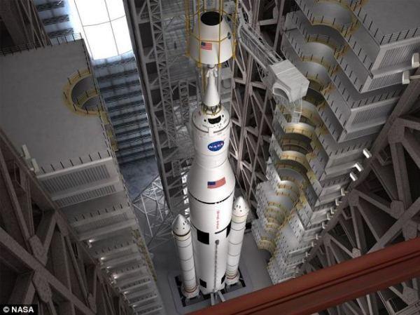 NASA ra mắt kế hoạch xây dựng tên lửa SLS Space Launch System