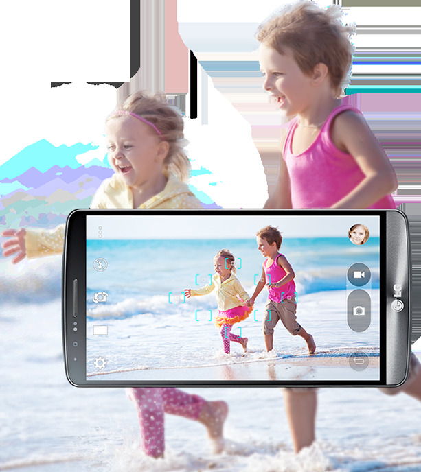 13-megapixel camera with optical image stabilization plus (OIS+)