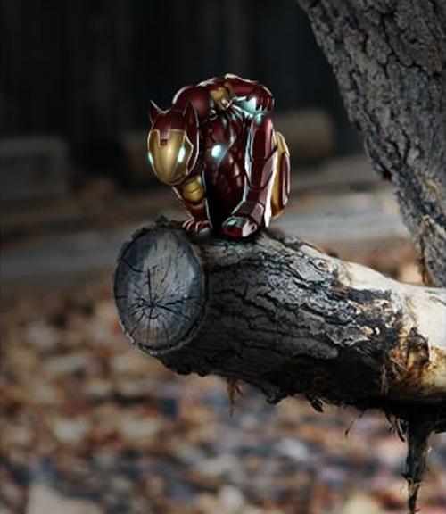 Phiên bản Iron Man thu nhỏ.