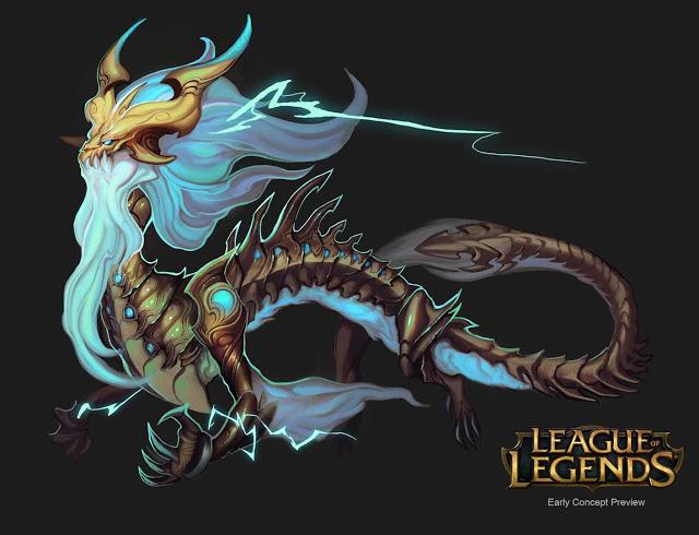 Ao Shin: Thần Rồng Sét sắp xuất hiện trong thế giới Liên Minh Huyền Thoại?