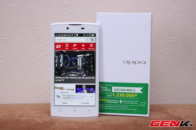 Mở hộp Neo 3, bản nâng cấp smartphone tầm trung của Oppo