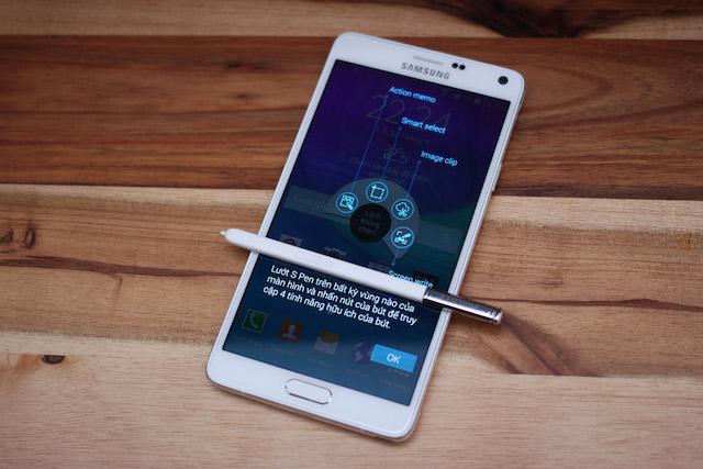 Cảm nhận nhanh Galaxy Note 4 tại Việt Nam: cuộc lột xác của Samsung