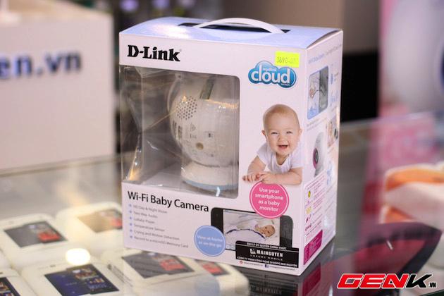 Cận cảnh camera quan sát trẻ em của D-Link