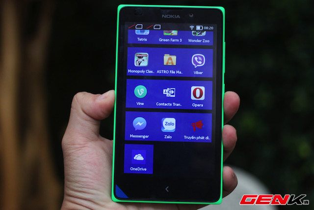 Cảm nhận nhanh Nokia XL hai SIM chính hãng
