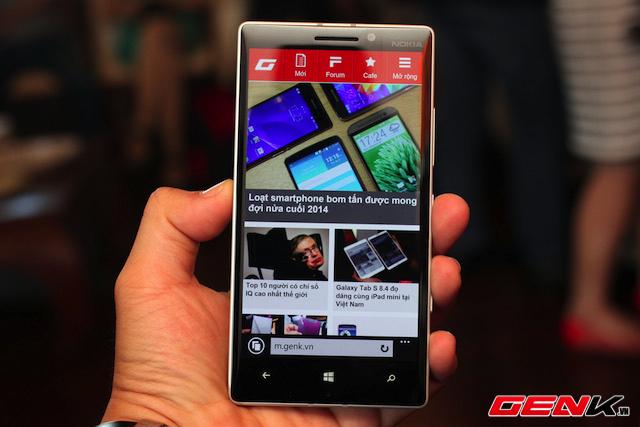 Cận cảnh Nokia Lumia 930 tại Việt Nam
