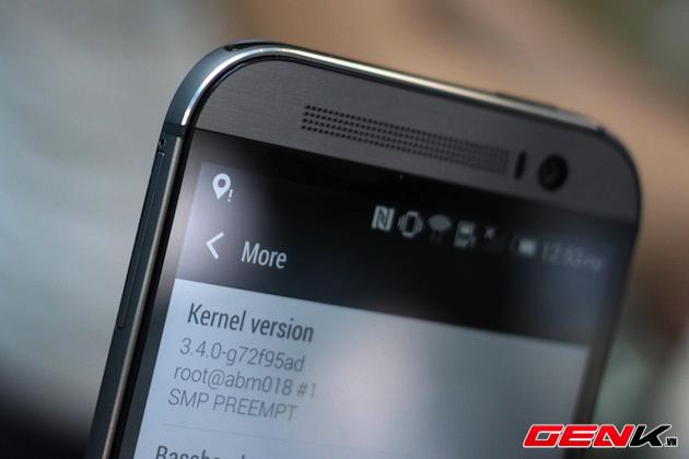 Mở hộp HTC One M8 mới xuất hiện tại Việt Nam