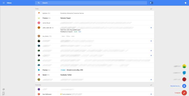 Google thử nghiệm giao diện hoàn toàn mới cho Gmail nền web