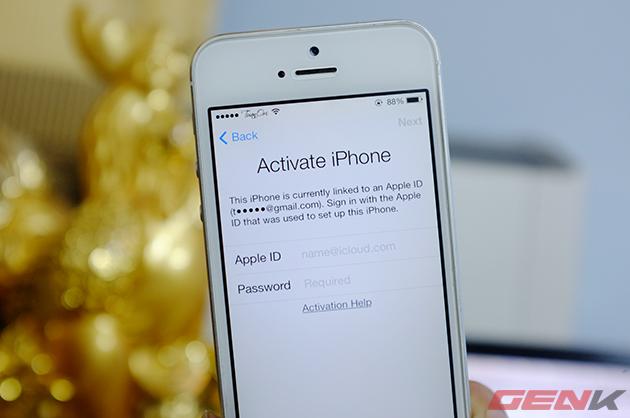 Lỗi mới trên iOS 7.1 cho phép xóa tài khoản iCloud không cần mật khẩu