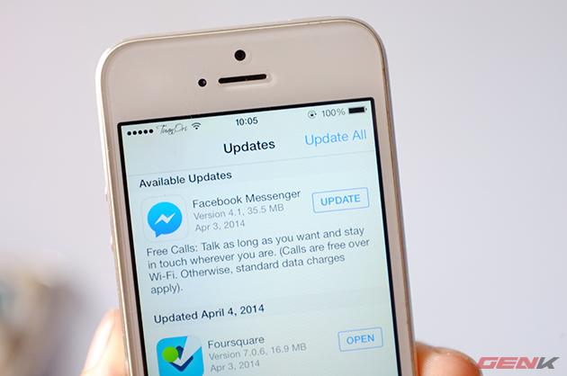 Bản cập nhật đã có sẵn trên kho ứng dụng AppStore và CH Play.