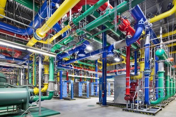 Bên trong trung tâm dữ liệu khổng lồ của Google