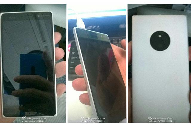 Lumia 830 lần đầu lộ diện, thiết kế giống Lumia 930