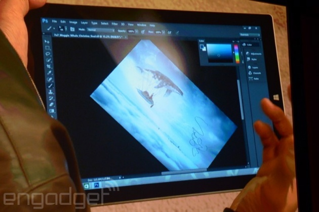 Adobe sẽ ra mắt phiên bản Photoshop tối ưu cho màn hình cảm ứng